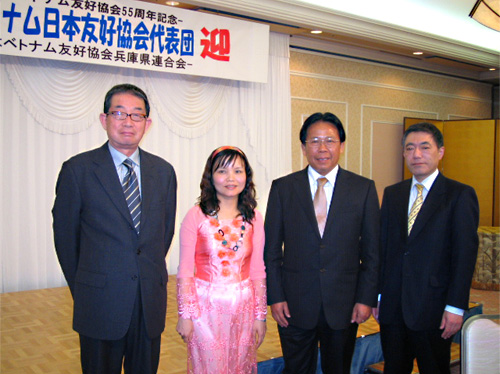 ベトナム日本友好協会会長 ギエム・ヴー・カイ会長歓迎会