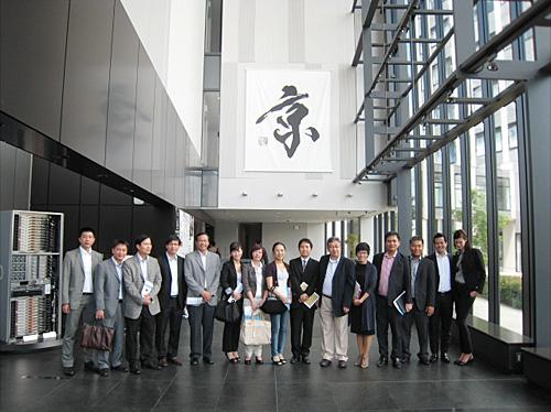 神戸市理科学研究所でスーパーコンピューター「京」を見学