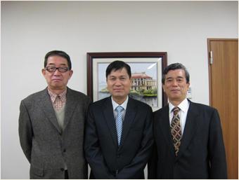 国連世界観光機関(UNWTO)アジア太平洋センター代表と面談