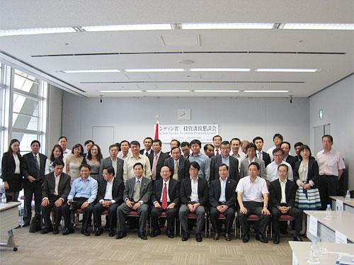 在関西経済団体への誘致懇談会の参加者