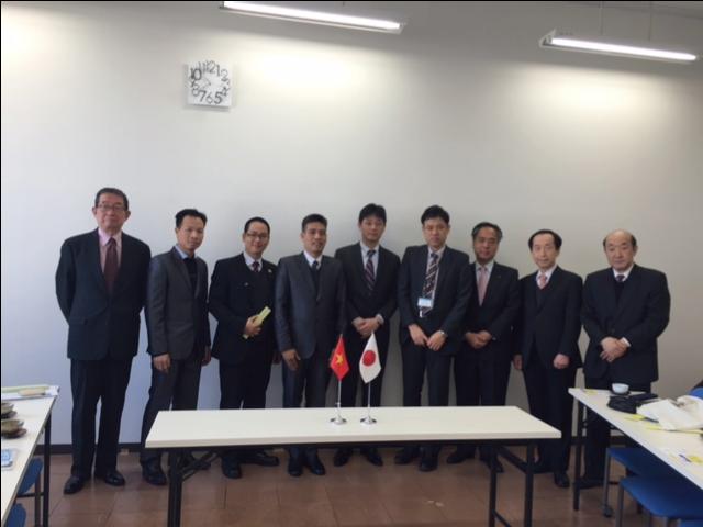 ハノイ裾野産業協会(HANSIBA)一行が滋賀県を訪問