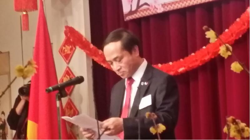 2018年 テトのお祝い ― 在大阪ベ...